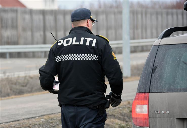 Politiet skrev mange forenklede forelegg i Totenvika, og i tillegg var det tre bilister som ble fotgjengere.