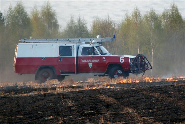 Brannveteranene har opplevd mye rart på utrykning.