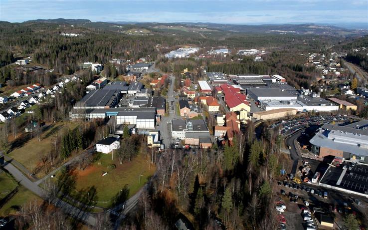 Industriparken på Raufoss ble tirsdag solgt til nye eiere.