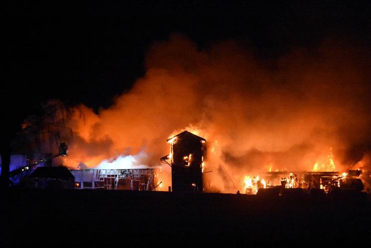 Artikkelen om brannen ved Skreia renseanlegg ble en av de mest leste i 2018.