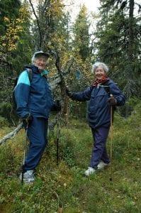 Gerd Aarsby og Solveig Aarsby deltok på turen i 2005.
