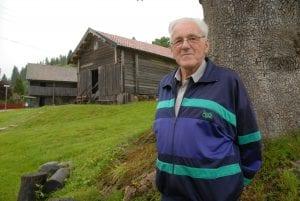 Arne Garsjø (1926-2017) var født på skysstasjonen.
