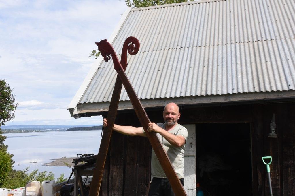 Snart er vikingene tilbake på Mjøsa for sommeren Totens Blad